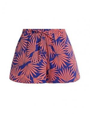Пляжные брюки и шорты DIANE VON FURSTENBERG. Цвет: фиолетовый