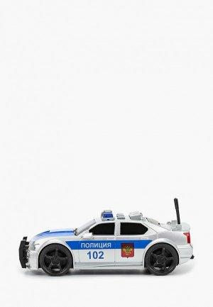 Игрушка интерактивная Технопарк Полицейская машина, Седан, длина 19 см. Цвет: разноцветный