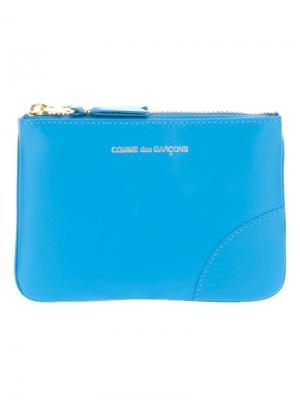 Кошельки и визитницы Comme Des Garçons Wallet. Цвет: синий