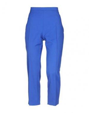Повседневные брюки AKRIS PUNTO. Цвет: ярко-синий