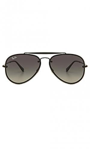 Солнцезащитные очки blaze Ray-Ban. Цвет: черный