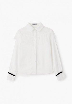 Блуза Choupette. Цвет: белый