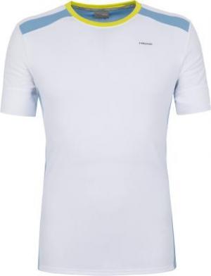 Футболка мужская Uni, размер 46 Head. Цвет: белый