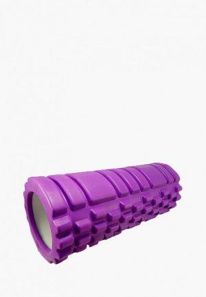 Валик для фитнеса Prorun. Цвет: фиолетовый