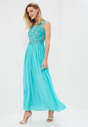Платье Omonsim. Цвет: бирюзовый