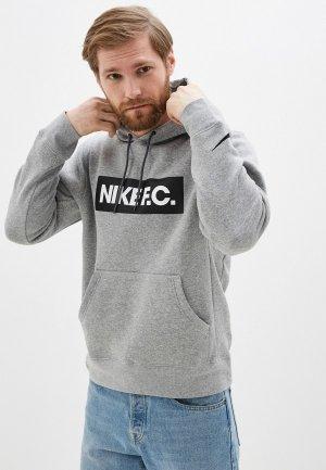 Худи Nike M NK FC ESSNTL FLC HOODIE PO. Цвет: серый
