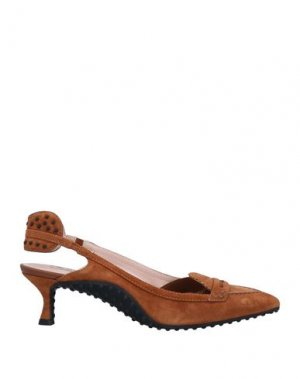 Туфли ALESSANDRO DELL'ACQUA x TOD'S. Цвет: коричневый