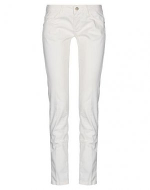 Повседневные брюки BLUEFEEL by FRACOMINA. Цвет: слоновая кость