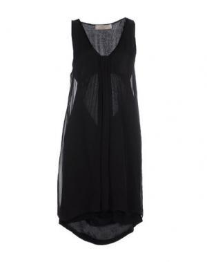 Короткое платье AMBRA ANGIOLINI x ANIYE BY. Цвет: черный