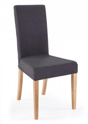 Чехол для стула Каро bonprix. Цвет: серый