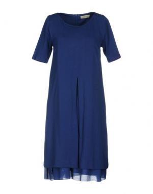 Короткое платье ALPHA STUDIO. Цвет: синий