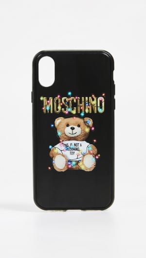 IPhone X Case Moschino