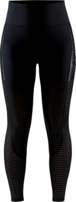 Легинсы женские Charge Shiny, размер 44-46 Craft. Цвет: черный