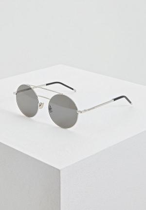 Очки солнцезащитные Saint Laurent SL 210001. Цвет: серый