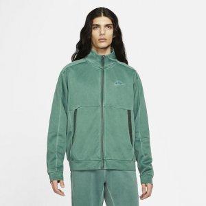 Мужская куртка из ткани джерси Sportswear - Зеленый Nike