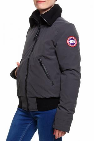 Куртка бомбер Canada Goose. Цвет: серый