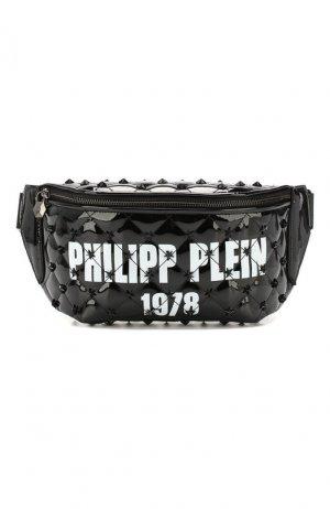 Поясная сумка Philipp Plein. Цвет: чёрный
