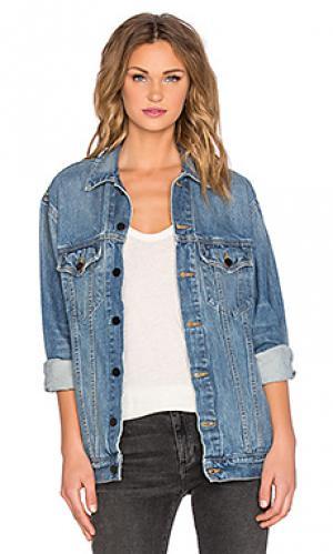 Джинсовая куртка daze DENIM x ALEXANDER WANG. Цвет: синий