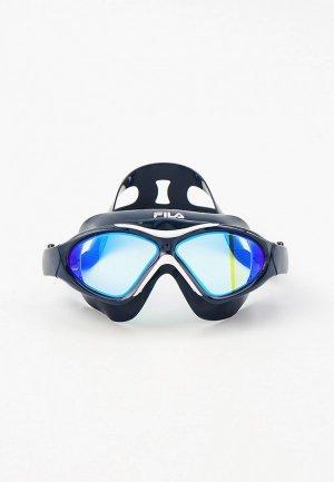 Очки для плавания Fila. Цвет: черный