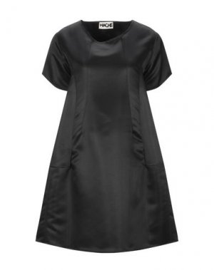 Короткое платье HACHE. Цвет: черный