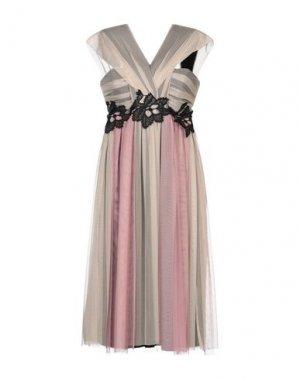 Платье до колена ANNARITA N. Цвет: пастельно-розовый