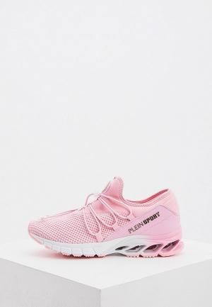 Кроссовки Plein Sport. Цвет: розовый