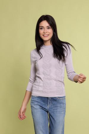 Пуловер Just Valeri. Цвет: сиреневый