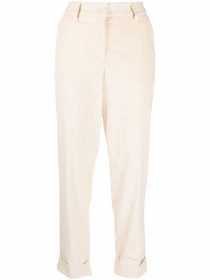 Corduroy straight-leg trousers P.A.R.O.S.H.. Цвет: нейтральные цвета