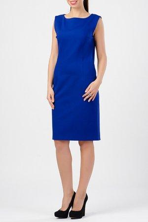 Платье TUZUN. Цвет: ярко-синий