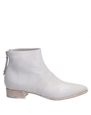 Полусапоги и высокие ботинки ALBERTO FERMANI. Цвет: светло-серый