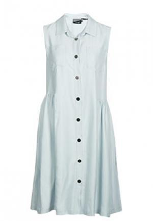 Платье ALTER EGO. Цвет: голубой