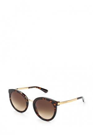 Очки солнцезащитные Dolce&Gabbana DG4268 502/13. Цвет: коричневый