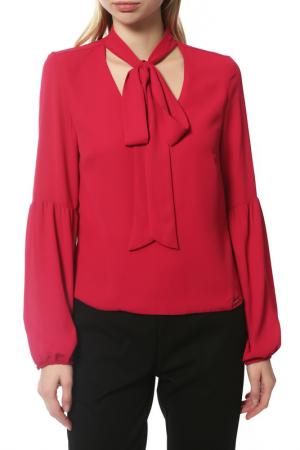 Блуза Guess. Цвет: бордовый