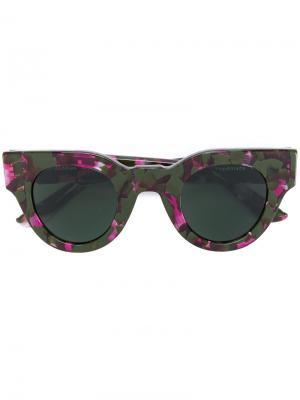 Солнцезащитные очки Maud Sun Buddies. Цвет: зелёный