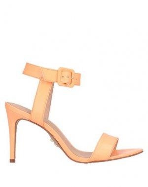 Сандалии CARRANO. Цвет: оранжевый