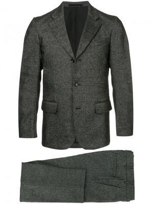 Костюм с пиджаком зазубренными лацканами Comme Des Garçons Vintage. Цвет: серый