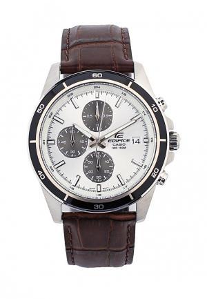 Часы Casio EDIFICE EFR-526L-7A. Цвет: коричневый