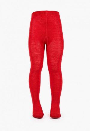 Колготки Wool&Cotton. Цвет: красный