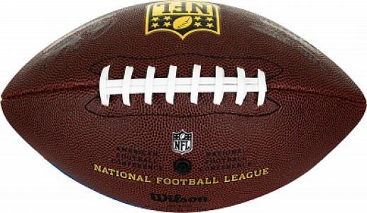 Мяч для американского футбола NFL UNION JACK Wilson. Цвет: разноцветный