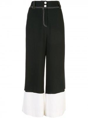 Кюлоты с широкими штанинами Derek Lam 10 Crosby. Цвет: черный