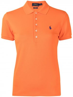 Рубашка поло Polo Pony Ralph Lauren. Цвет: оранжевый