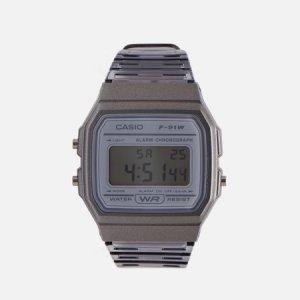 Наручные часы Collection F-91WS-8EF CASIO. Цвет: серый