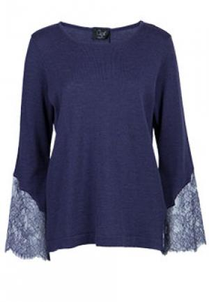 Блуза CLIPS. Цвет: фиолетовый