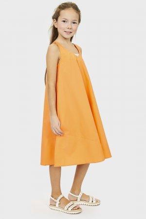 Сарафан baon. Цвет: оранжевый