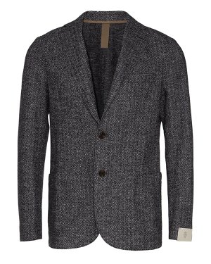 Пиджак B70GIAA01 58 серый Eleventy. Цвет: серый