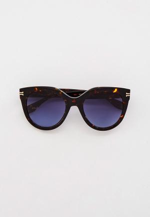 Очки солнцезащитные Marc Jacobs MJ 1011/S 086. Цвет: коричневый