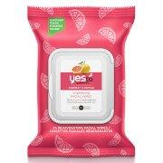 Омолаживающие влажные салфетки для лица с экстрактом грейпфрута yes to Grapefruit Rejuvenating Facial Wipes (25 штук)