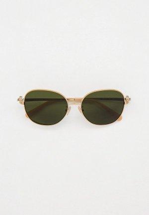 Очки солнцезащитные Coach HC7123 900571. Цвет: зеленый