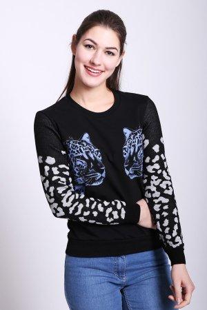 Пуловер D.S.. Цвет: чёрный