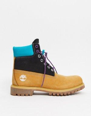 Ботинки ретро в разных оттенках 6 дюймов-Мульти Timberland
